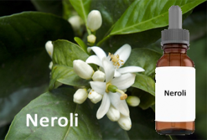 Neroli oil essential oil for acne scar